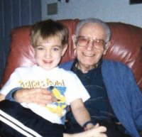 me and great grandpa
